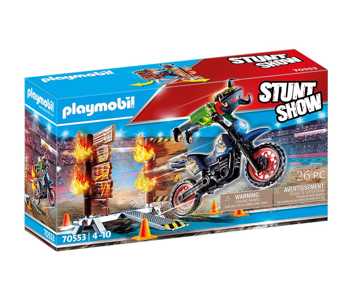 Детски конструктор Playmobil - 70553, серия Stunt Show