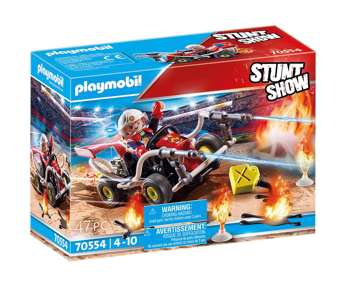 Детски конструктор Playmobil - 70554, серия Stunt Show