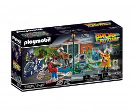 Детски конструктор Playmobil - 70634, серия Back to the Future