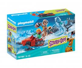 Детски конструктор Playmobil - 70706, серия Scooby Doo
