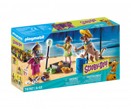 Детски конструктор Playmobil - 70707, серия Scooby Doo