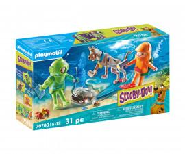 Детски конструктор Playmobil - 70708, серия Scooby Doo