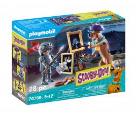 Детски конструктор Playmobil - 70709, серия Scooby Doo