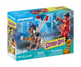 Детски конструктор Playmobil - 70710, серия Scooby Doo