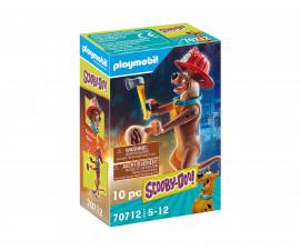 Детски конструктор Playmobil - 70712, серия Scooby Doo