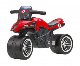 Детски състезателен моторза каране без педали Falk, червен