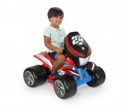 АТВ за деца Injusa с батерия 6V - Борец, червено
