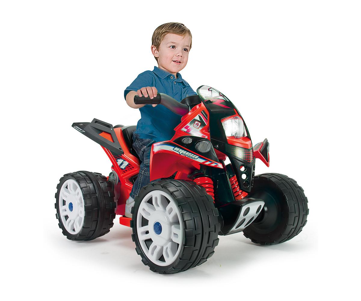 АТВ за деца Injusa с батерия 12V - Звяр, червено