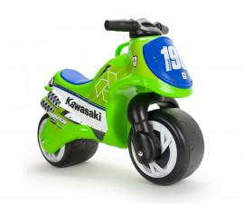 Детски мотор - проходилка Injusa - Neox Kawasaki, зелен