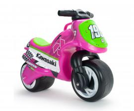 Детски мотор - проходилка Injusa - Neox Kawasaki, розов