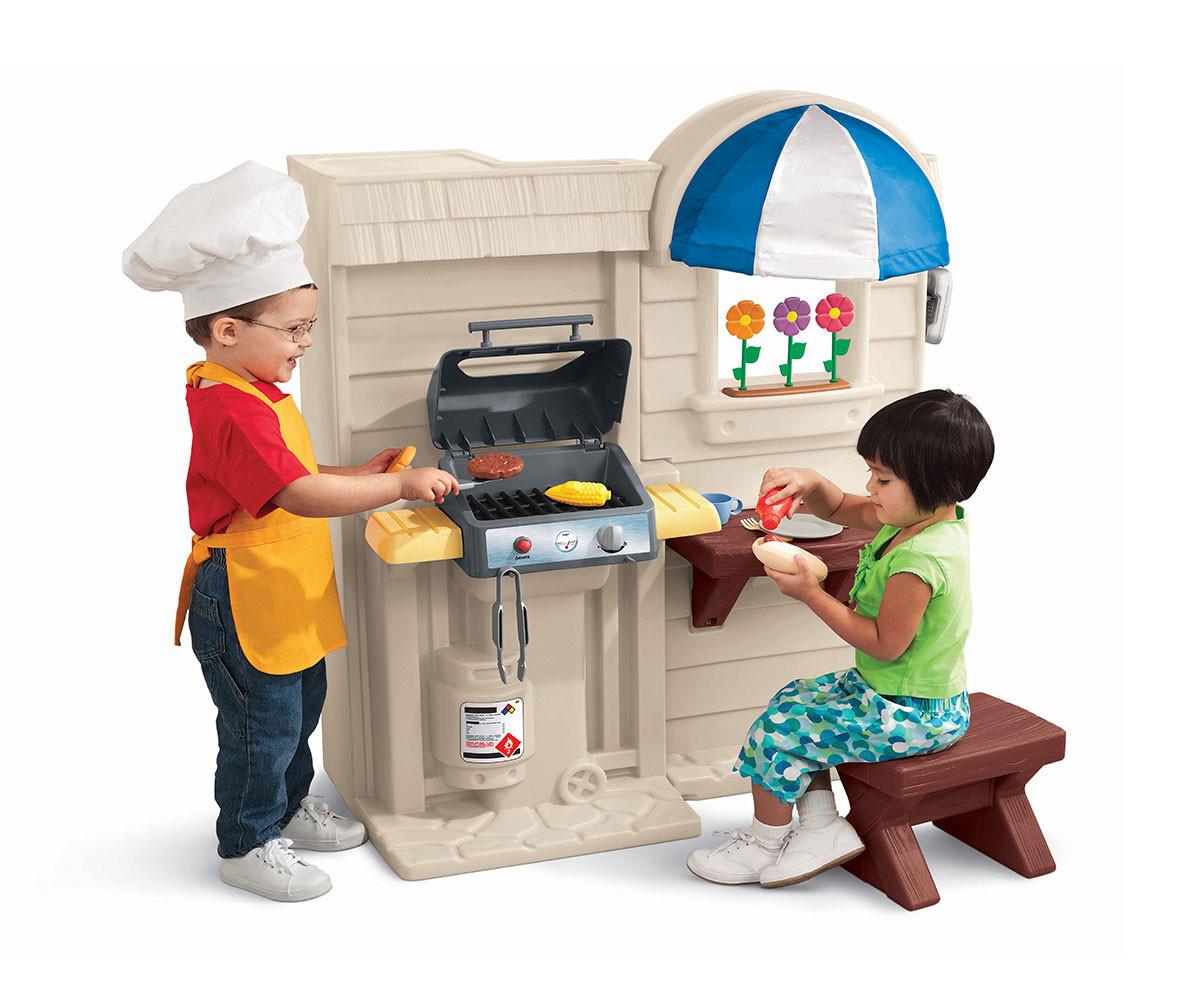 Детска кухня за игра с грил Little Tikes 450B