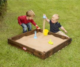 Дървен пясъчник за навън Little Tikes 172885