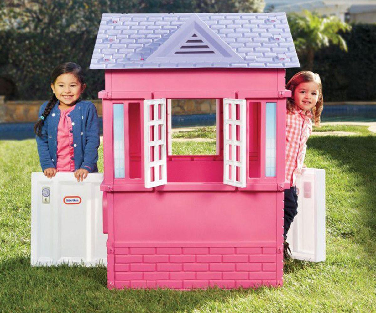 Детска къща розова Little Tikes КОМСЕД