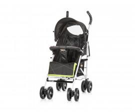 Лятна бебешка количка Chipolino Сиси, диско черен LKSS01803DB