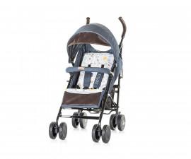 Лятна бебешка количка Chipolino София, индиго памучни дънки LKSO01801IJ