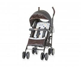 Лятна бебешка количка Chipolino София, черни памучни дънки LKSO01803BJ