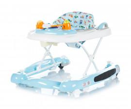 Сгъваема бебешка проходилка 3в1 Chipolino Лили, синя PRLI01701BL