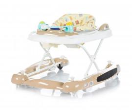 Сгъваема бебешка проходилка 3в1 Chipolino Лили, бежова PRLI01703BE