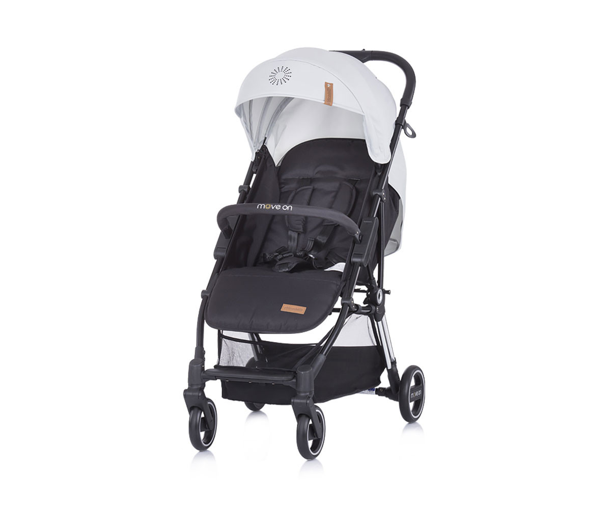 Детска количка Чиполино Колекция Move on Grey 2020