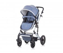 Детска количка Чиполино Тера син лен Колекция 2020