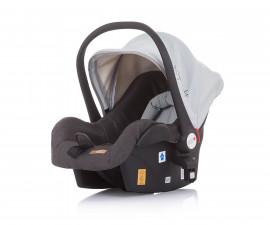 Бебешка кошница за кола и количка Чиполино Terra в сиво Колекция 2020