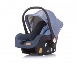 Бебешка кошница за кола и количка Чиполино Terra в синьо Колекция 2020