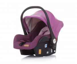 Бебешка кошница за кола и количка Чиполино Terra в розово Колекция 2020
