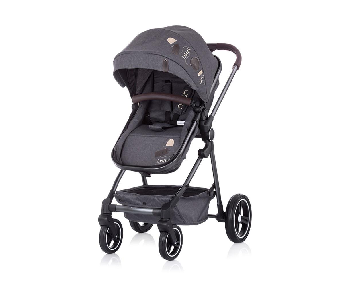 Детска количка Чиполино Noa grey denim Колекция 2020