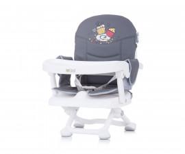 Столче за хранене с повдигаща фукция Чиполино Lolipop цвят графит/сиво Колекция 2020