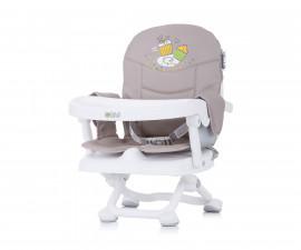 Столче за хранене с повдигаща фукция Чиполино Lolipop цвят мока/кафе Колекция 2020