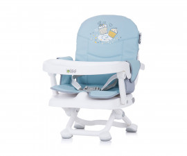 Столче за хранене с повдигаща фукция Чиполино Lolipop цвят скай/синьо Колекция 2020
