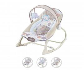 Музикален шезлонг за новородено до 9 кг Chipolino Dolce, асортимент
