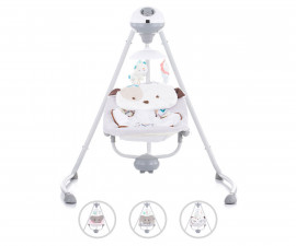 Електрическа бебешка люлка за новородено до 9кг Chipolino Аида, асортимент