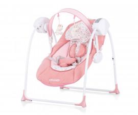 Електрическа бебешка люлка за новородено до 9 кг Chipolino Люш-люш, орхидея LSHLB0203OR
