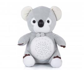 Детска плюшена играчка с проектор и музика Chipolino, коала