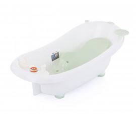Детска вана за къпане на бебе с подложка Chipolino Bubble, минт 91 см VKBU00202MI