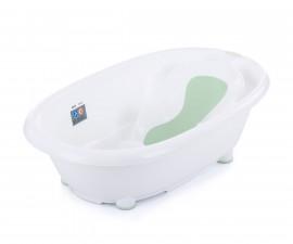 Детска анатомична вана за къпане на бебе Chipolino Delta, минт 93.5 см VKDE00202MI