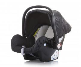 Бебешко столче за кола с адаптор до 13кг Chipolino Хавана, карбон 0+
