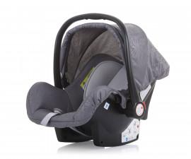 Бебешко столче за кола с адаптор до 13кг Chipolino Хавана, мъгла 0+