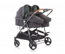 Бебешки колички за близнаци до 15кг Chipolino Дуо Смарт, мента