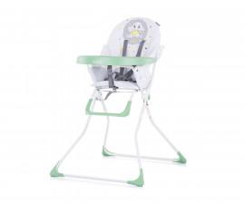 Детско столче за хранене Chipolino Теди, лайм