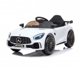 Детска акумулаторна кола Chipolino Mercedes Benz GTR AMG, бяла