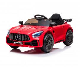 Детска акумулаторна кола Chipolino Mercedes Benz GTR AMG, червена