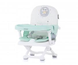 Повдигащо детско столче за хранене Chipolino Лoлипоп, мента