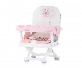 Повдигащо детско столче за хранене Chipolino Лoлипоп, божур