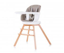 Въртящо детско столче за хранене Chipolino 3в1 Рото, лате