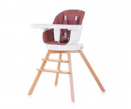 Въртящо детско столче за хранене Chipolino 3в1 Рото, далия