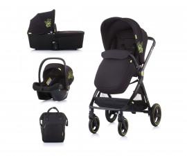 Комбинирана детска количка до 22кг Chipolino Елит 3в1, карбон