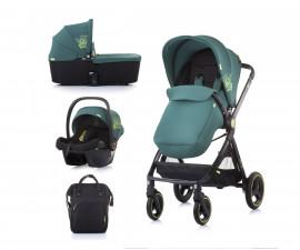 Комбинирана детска количка до 22кг Chipolino Елит 3в1, бор