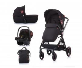 Комбинирана детска количка до 22кг Chipolino Елит 3в1, далия